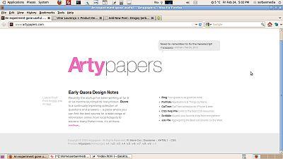 exemplu design minimalist artypapers.com