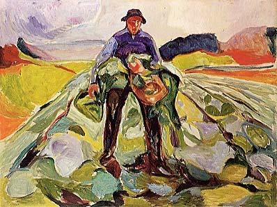 edvard-munch-barbat-in-campul-cu-varza-1916